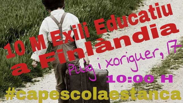 Cartell 10MExiliEducatiu 2