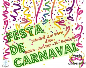 Cartell Festa Carnaval 2015