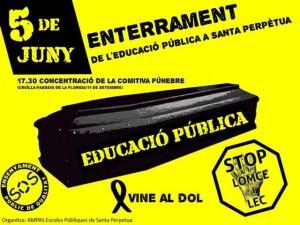 Funeral Educació Pública 2013