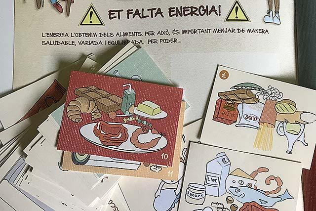 Ja està aquí l'àlbum de cromos del Projecte Alimentació Saludable