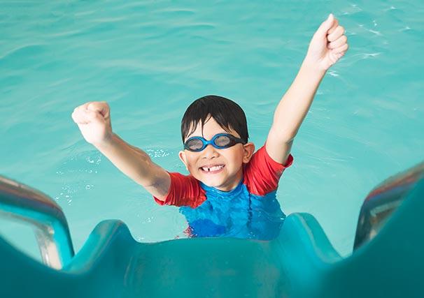 El 18 de maig: Cloenda del curset de natació