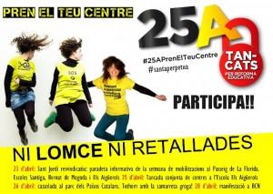 Les AMPA de les escoles Els Aigüerols, Santiga i Bernat de Mogoda, s'adhereixen al #25APrenElTeuCentre