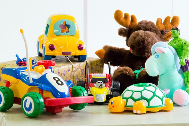 Primera recollida i venda de joguines de segona mà